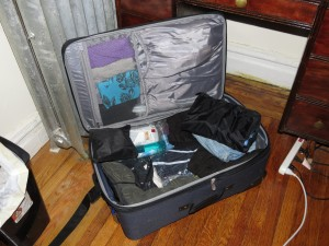 Who says you have to pack heavy for a six-week trip?