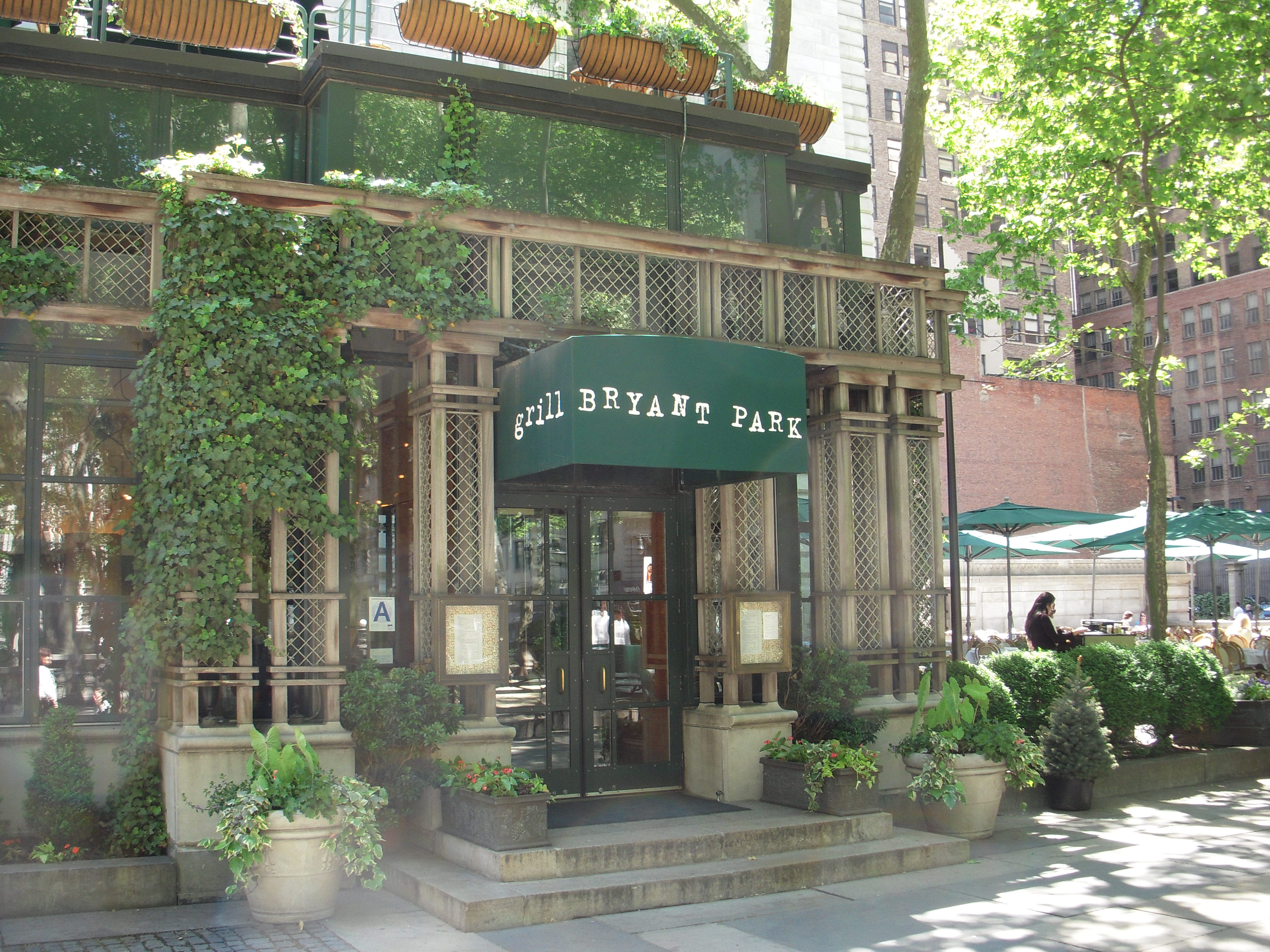 Bryant Park Grill Is A Restaurant That Leans On The More Sophisticated Side With Pricier American Cuisine Than Other Food Venues At