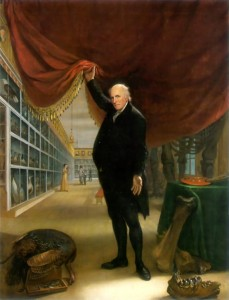 Charles Willson Peale, The Artist in His Museum, 1822, oil on canvas, Philadelphia Museum of Art; The George W.Elkins Collection