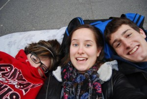 Camping Out For SNL Tickets