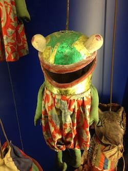 Frog Marionette