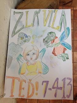 Zla Villa Poster by Tomas, Nico, and Maria