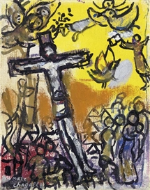 Museums and Culture - Marc Chagall at the NCMA Chagall Crucifixion