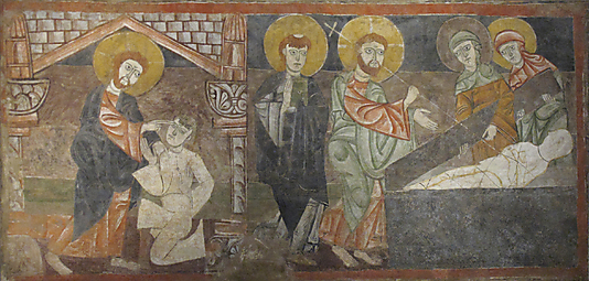 The Healing of the Blind Man and the Raising of Lazarus