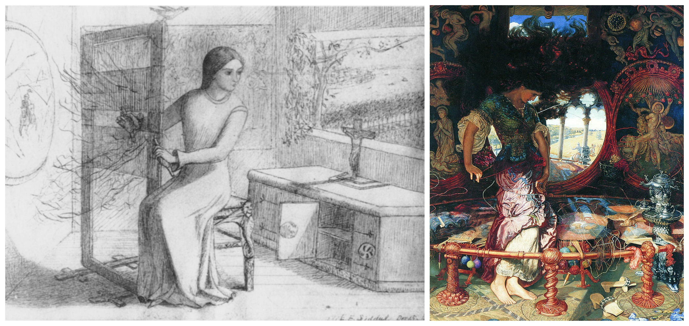 a literary comparison of ode on a grecian urn by keats and the lady of shalott by tennyson Poetry- beauty essential question the lady of shalott (alfred, lord tennyson) the raven explanation and analysis of ode on a grecian urn (john keats) 7.
