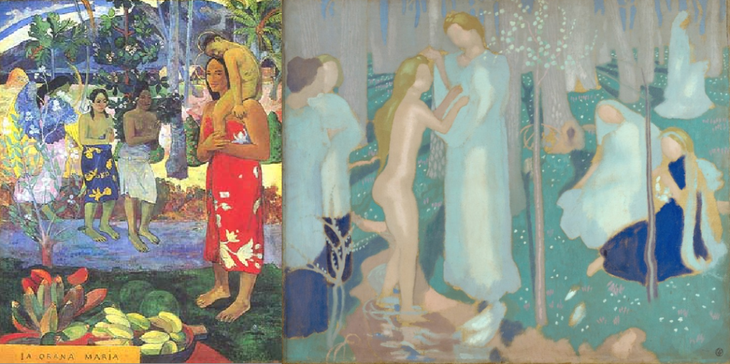 Paul Gauguin and Maurice Denis: Ia Orana Maria vs. Springtime