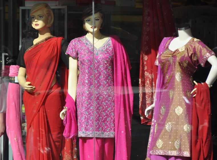 Oriental clothing store. Girls clothing stores