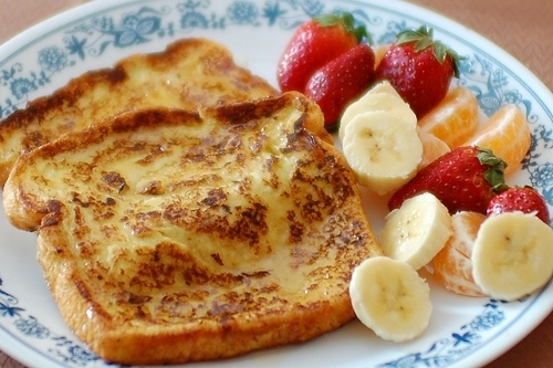 a college student's bucket list » healthy french toast