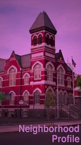 Flatbush Town Hall building