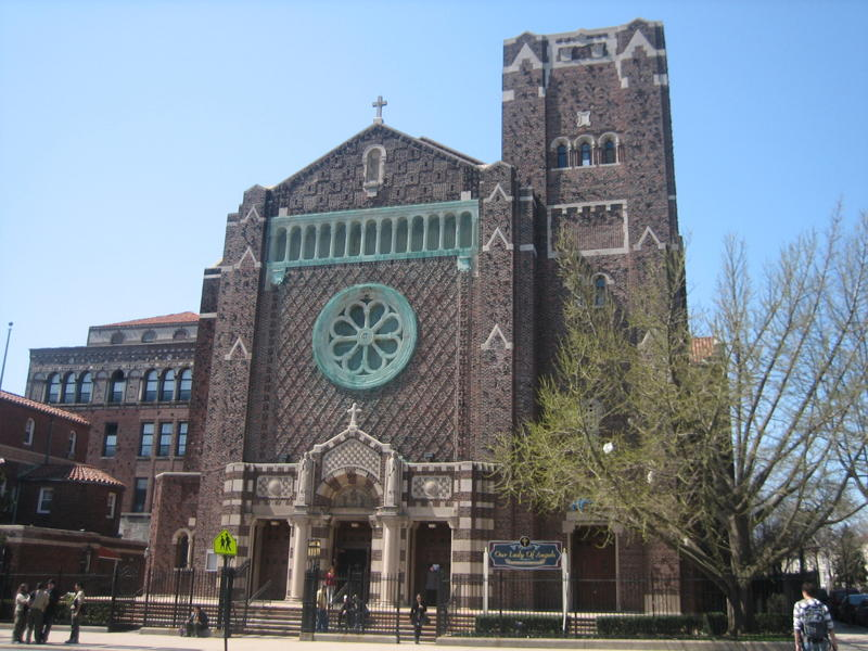 Our lady of angels roman catholic church