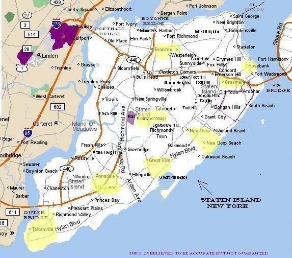 The Population Of Staten Island