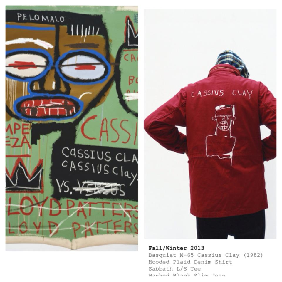 """dd82ca126e51 Early last week, Supreme, a clothing brand that caters to the """"young  counter culture"""", released its latest collection in collaboration with the  Basquiat ..."""