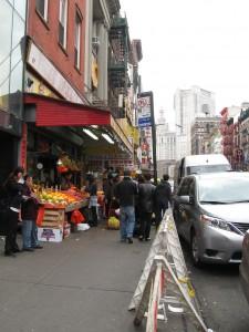 Off the F Train & Into Chinatown