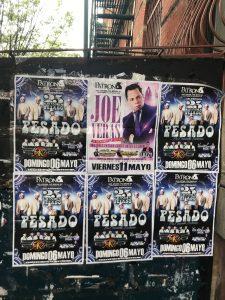 Photo of a concert for Joe Veras