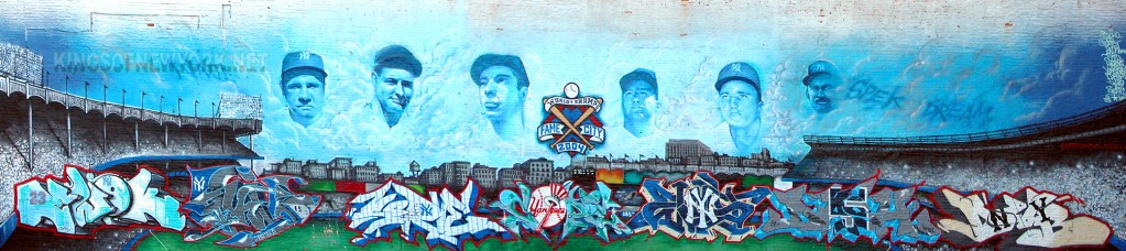 YANKEE STADIUM FAME CITY 2004 WALL-KINGSOFNEWORK.NET