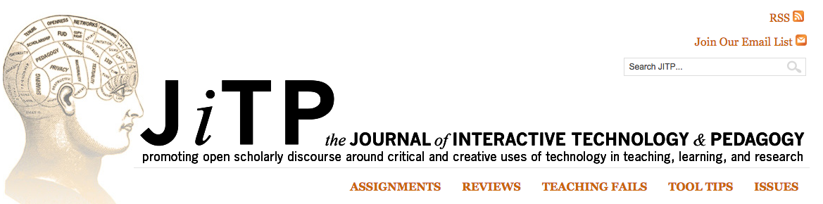 Journal of Interactive Technology and Pedagogy