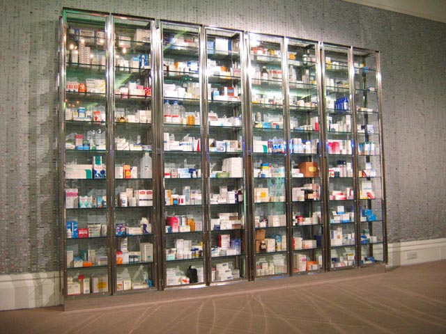One Of Damien Hirst S Medicine Cabinets