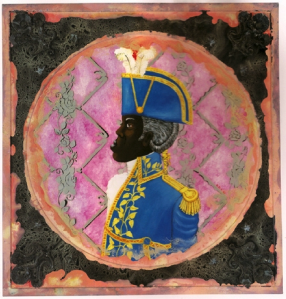 Edouard Duval-Carrié Le General Toussaint Enfumé (General Toussaint Wreathed in Smoke), 2003