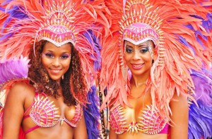 True players of carnival dress in elaborate, often expensive, costumes. Photo by Zigwa
