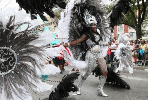 The elaborate costumes are probably the most recognizable part of the Brooklyn Carnival.
