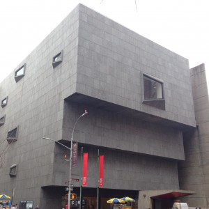 The Met Breuer, street view. Photo by author.