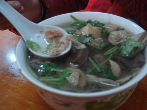 Blood Duck Soup- Nanjing's Specialty Dish