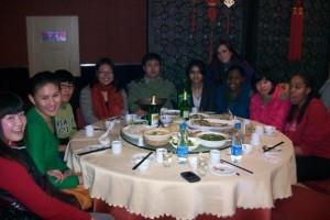 Dinner in Nanjing