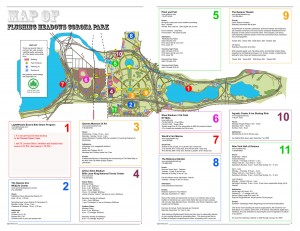 flushing meadows corona park map pdf