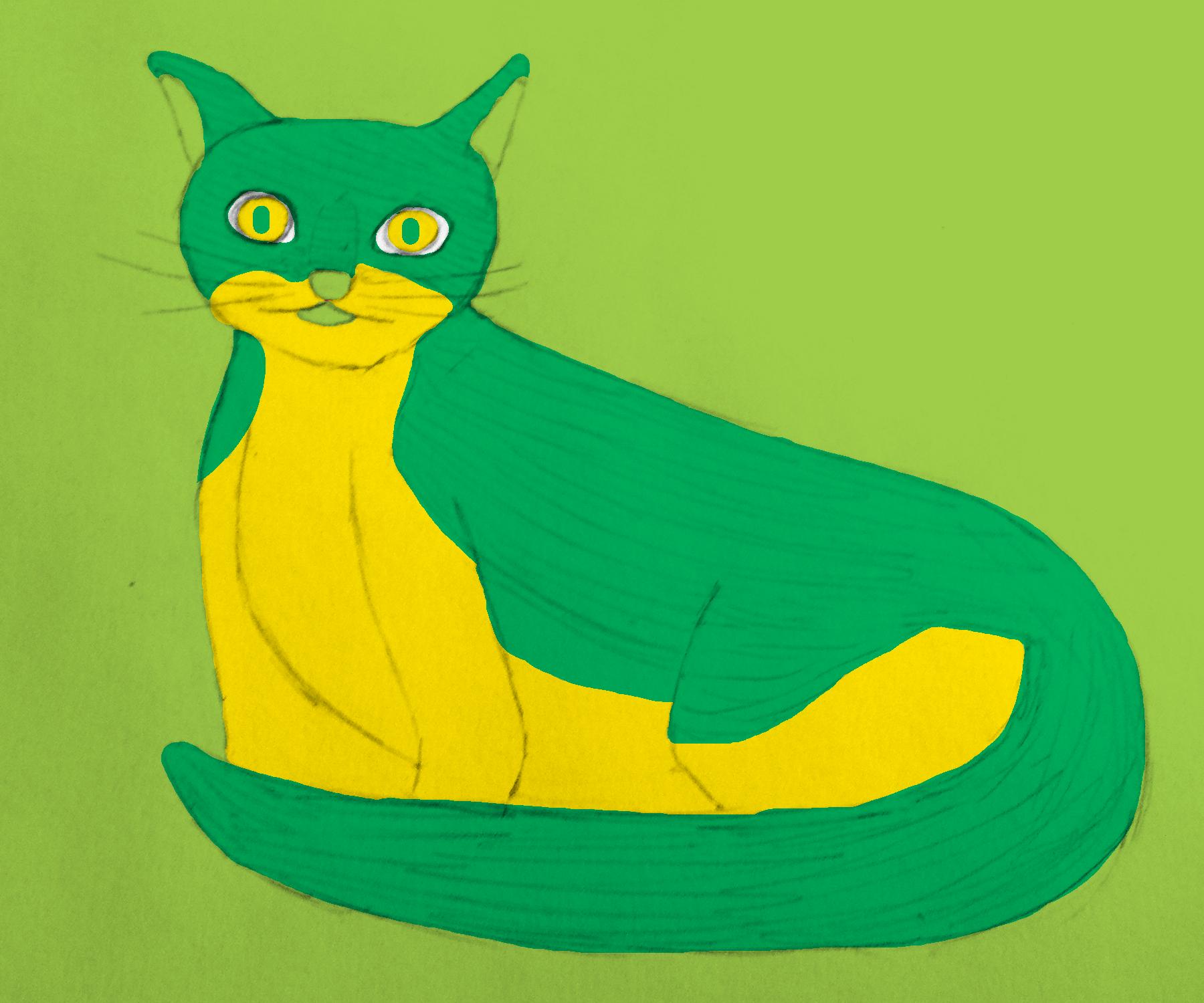 Color Drawing Of Pet ARTS 190 Blog