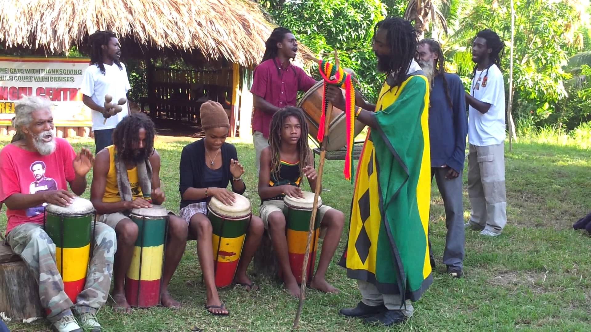 Nyabinghi rasta culture in new york