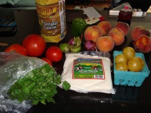 Assorted goods in the Greenmarket