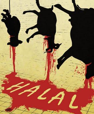 Halal slaughter poster