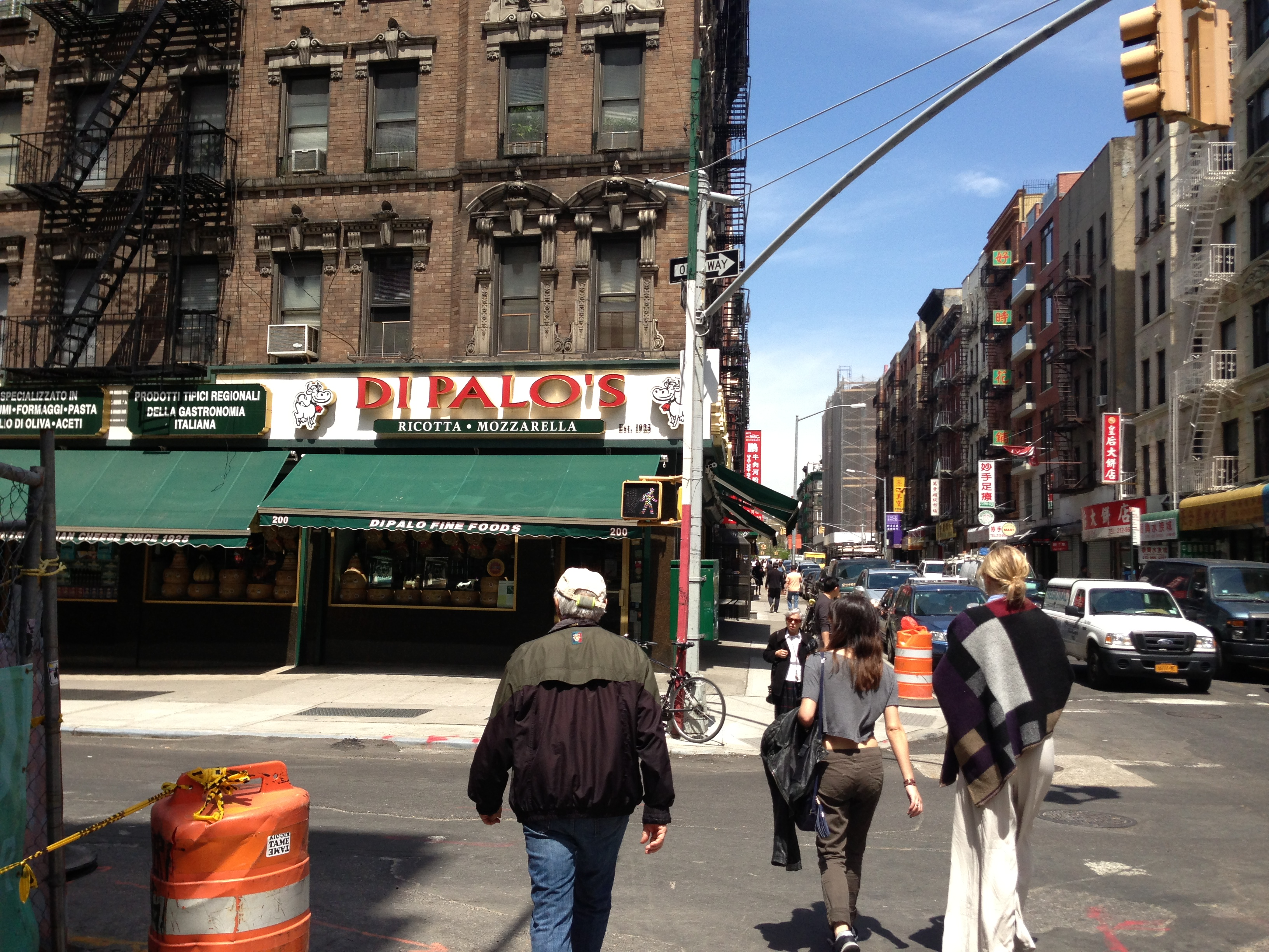 Transition from Chinatown to Little Italy