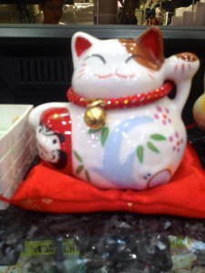 Fortune Cat on Counter