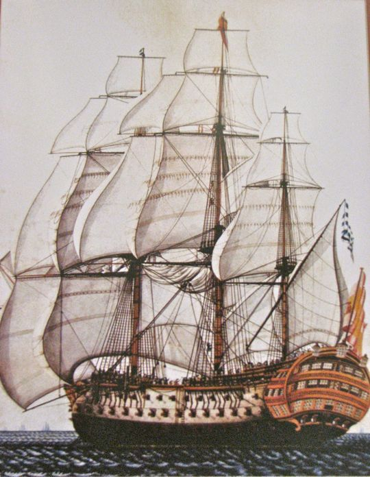 NM Galleon painting