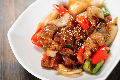 An Americanized Chinese dish - Sweet and Sour Pork  (Photo credits: getty image)