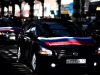 Nissan Maxima\'s with Russian Flags