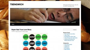 "I started this ""TSENGWICH"" website for my Arts Seminar class taught by Professor Meyers Kingsley, who assigned us a project to visit various art venues in NYC and make comments. But the project resulted into a little blog I really grew to love.  As for my approach to this project, I did not want to strictly provide technical information about the paints or dimensions of the art. I wanted to speak about my own emotions that I felt while viewing the artwork. My hope is that it breaks down some boundaries as to how people view art, not as something too serious, but funny and personal, too.   As for my future plans. I plan to continue visiting more exhibits, and writing down my interpretations for the things I see!"