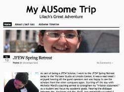 Lilach Gez, My AUSome Trip