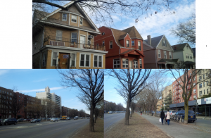Victorian Houses and Ocean PKWY