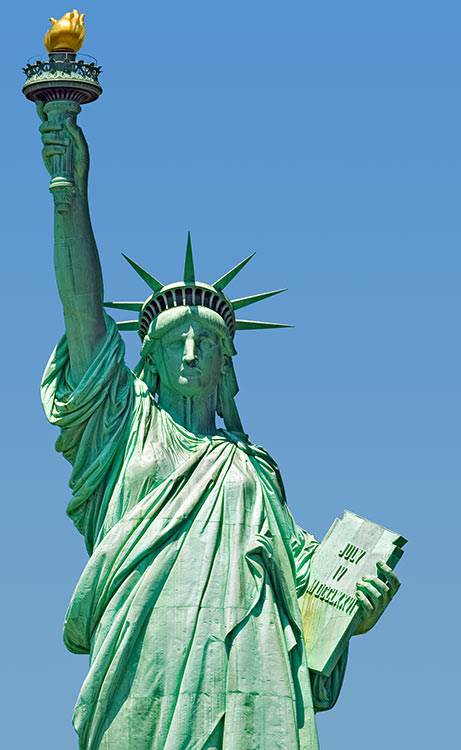 Statue-of-Liberty-zWeeping Angel Statue Of Liberty