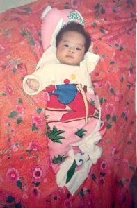 Eve's daughter, Xin Xin, 2000