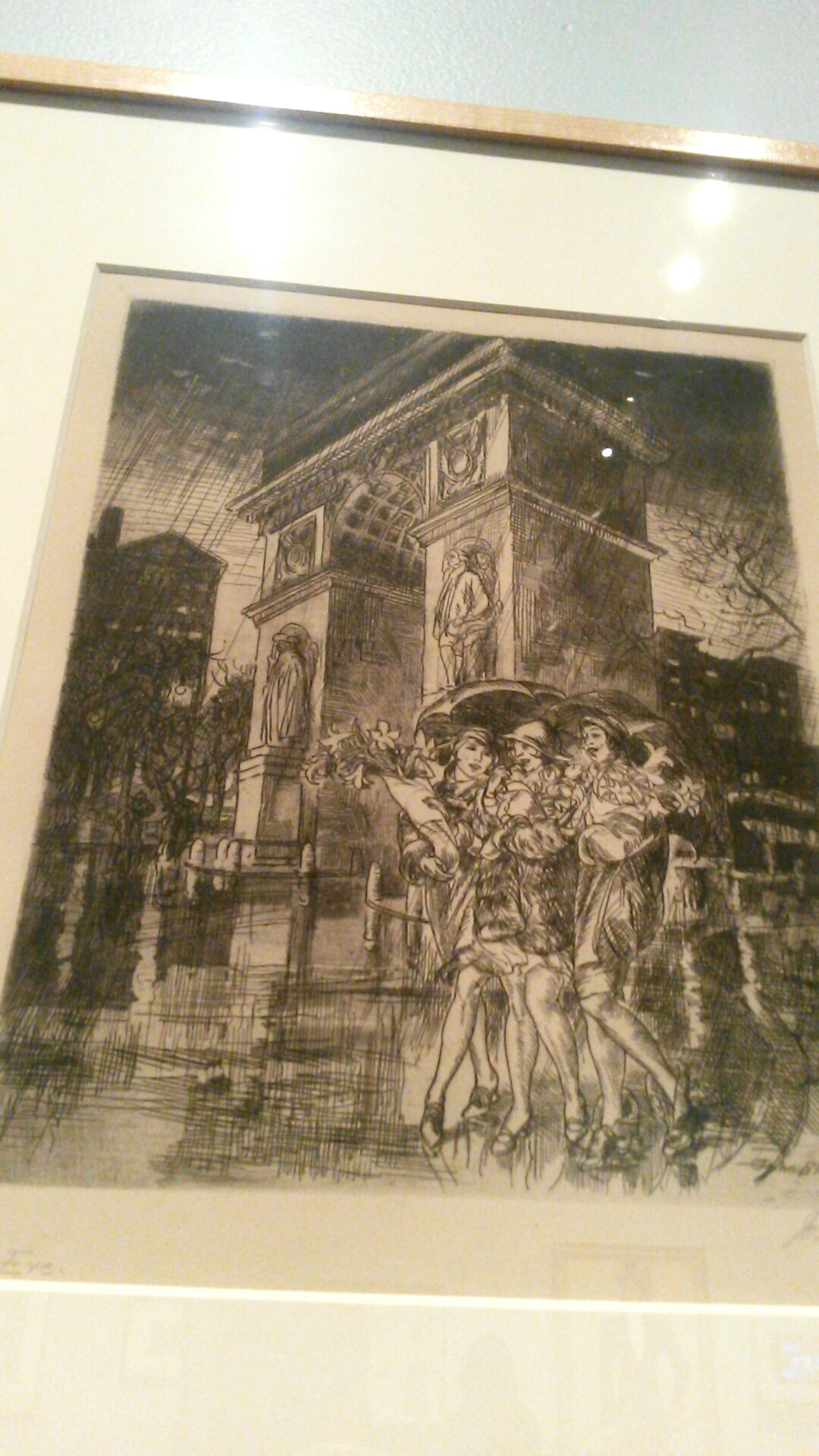 John Sloans Depiction Of Typical New York Womens Lives From Certain Areas Manhattan