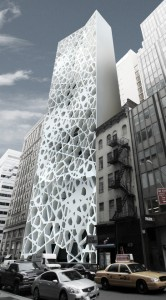 """A renditioning of the intended design of Park51, the """"Ground Zero Mosque"""""""