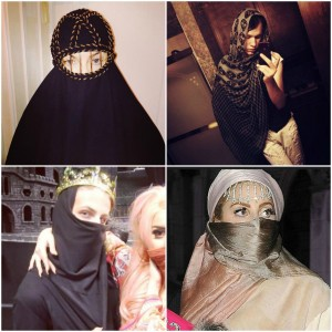 """The hypersexualization of the burqa has been criticized for eroding context in favor of fashion, and the """"mystery"""" associated with """"exotic"""" cultures."""