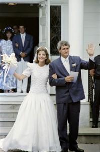Caroline Kennedy wore a Carolina Herrera design to her 1986 wedding.