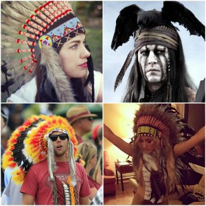 The modern conversation on appropriation was spurred by the growing popularity of wearing Native American headdresses as a fashion accessory.