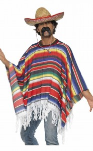 Stereotypical portrayal of Mexican men.